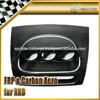 For Mazda RX8 Carbon Fiber Dash Mount Triple Gauge Pod RHD