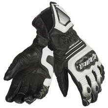 Carbon Cover ST Leather Motorcycle Gloves