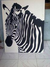 animal painting size 90x70cm