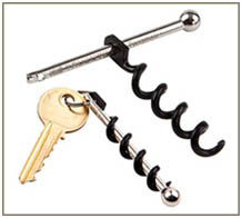 Keychain Type Cork Screw