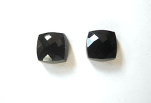 Natural Black Spinel Square Cut Hot Sale Stone