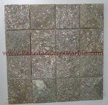 2014 new design beautiful green marble mosaic tile