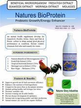 Natures Bio Protein Probiotics - Organic Probiotic for Animal Health Supplement
