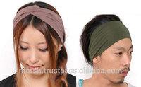 Hair Band Wholesale Dancewear Jogging wear Fitness Product Yoga Apparel Wholesale Stretch Headbands