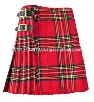 Mens Handmade 8 yards Scottish Kilt