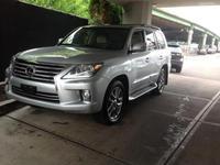 2013 Lexus lLx 570 Silver