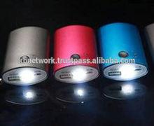 Cool Oval Capsule Aluminium Alloy Body Power Bank 6000mAh With 4 LED Level Indicators & LED Flashlight Power Bank