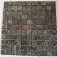Pietra naturale pakistani oceanica/gemma/Corel tessere di mosaico di marmo