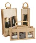 High Quality Jute Wine Bag
