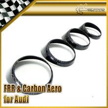 For Audi 2011 A1 Carbon Fiber Air Condition Vents Surround