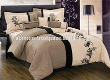 latest design Pigment Printing Duvet cover/bed sheet set/ bed linen