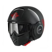 Helmet : Large : Black/Red/Black