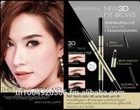 Eyebrow set 3 D Mistine brand Thailand superstar