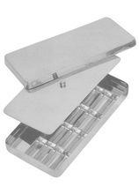 Surgical Holloware Instruments Instruments Box with Lid 16 x 8 x 3 Surgical Medical Veterinary 11268