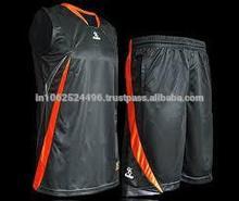 Basketball uniform black