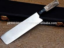 Custom made Damascus Steel/Steel Chef Knife