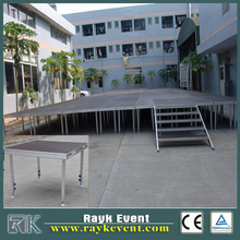 Aluminium portable stage deck school stage modular stage