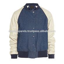 New products plain varsity jacket wholesale design baseball jackets for men