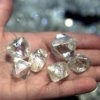 Natural uncut diamonds