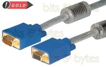 VGA 15pin D-Sub Socket to Plug Extension Cable - 15m