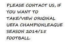 ORIGINAL UEFA CHAMPION LEAGUE SEASON 2014/15 FOOTBALL/MATCH BALL/SOCER BALL BALOON