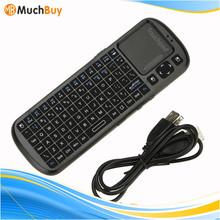 Handheld Smart TV PC Remote 2.4G RF Mini Wireless Keyboard