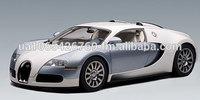 AutoArt BUGATTI EB 16.4 VEYRON PRODUCTION CAR - PEARL ICE BLUE 1:12 Die Cast Models