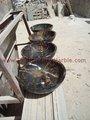 Pietra naturale pakistano nero e oro( Michelangelo) lavandini e vasche