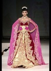 Moroccan Caftan 2014 New Arrivals Eid ul fitr 2014 Pink Color Lush Caftan for Irish Beauty With Golden Embroidery
