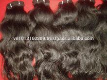 Premium Grade 6A 100% Double Weft Human Hair Extension 12-28'' Natural Black Color Brazilian Straight Hair Weave Bundles