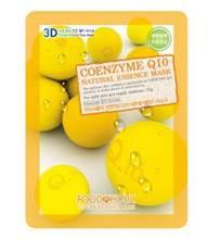 Coenzyme Q10 Natural Essence Mask Sheet Food a Holic Cosmetics of Korea