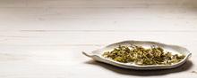 Herbal organic green Tea with memmory enhancer -oranger -spormint - lemon -jasmine-