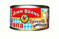 de la marca ayam propagación de atún en 185g mayonesa