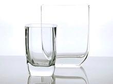 """Luna Glass Vase H 22 cm (H 9"""")"""