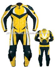 Custom motorcycle leather race suit/Racing Motorcycle Suit, Best Quality Custom Natural Cowhide Leather Motorbike Suit