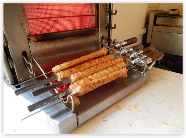 shish kebab grill machine