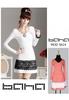 Long sleeve-V necklage Dress