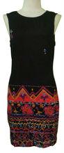 Dress in single Jersey knit viscose