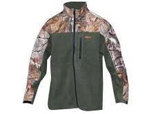 Mens camo softshell jacket