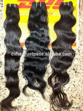 shedding&tangle free virgin indian hair wholesale 100% INDIAN HUMAN HAIR DOUBLE DRAWN