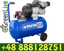 2 piston direct driven air compressor 50L 8bar 220l/min in POLAND