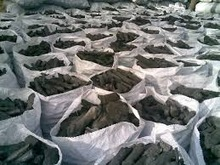 100% Natural Lump hardwood charcoal for Barbecue (BBQ).