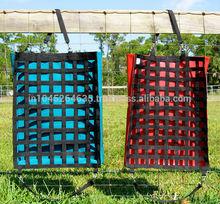 "100% Original Standard Horse Stable Nibble Net Slow Feed Hay Bag 1.5"" Opening"