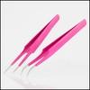 Pink Lash Tweezers
