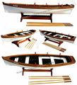 Elissa filika- ahşap gemi- ahşap tekne tekne- ahşap model