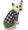 logo custom dog Gingham Mock Dog Vest dress clothes