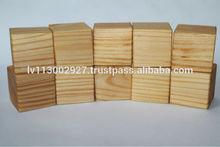 Eco pine wood cubes