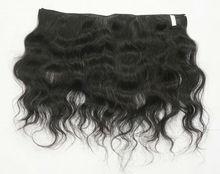 100 % Machine weft virgin Vietnam wavy hair