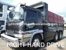 USED TRUCKS - MITSUBISHI FUSO 7 RUN S GRADE DUMP TRUCK (RHD 819017 DIESEL)