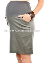 Office Maternity Skirt